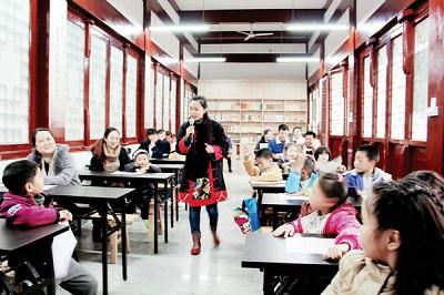 绵阳:少儿读经班进社区引发国学热