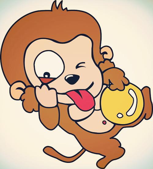 十二生肖故事:为何猴子屁股红图片