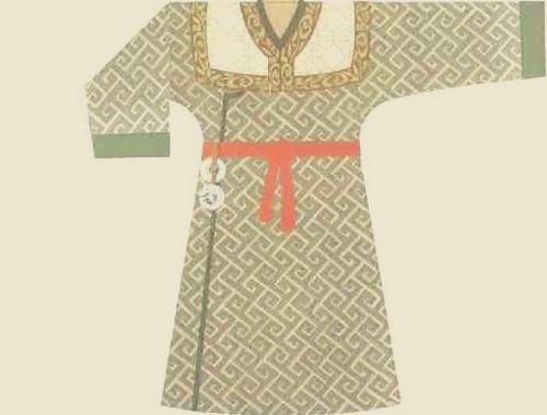 中国古代服装之春秋战国