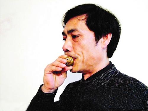中国传统乐器之田螺笛