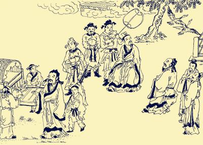 名人传记之孔子 桓魋伐树 上