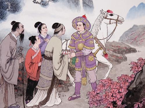 民间故事|花木兰从军