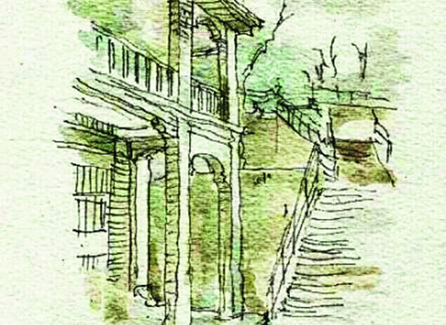南京大学老师手绘巢湖美景 网友点赞
