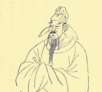 隋唐山水手绘 线稿
