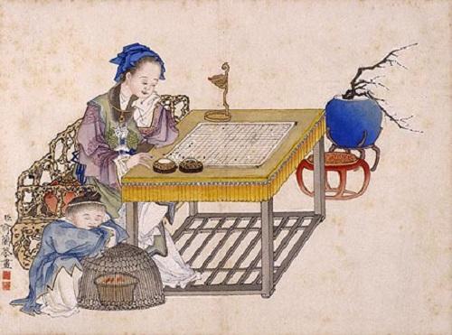【图语:中国古代女子围棋】