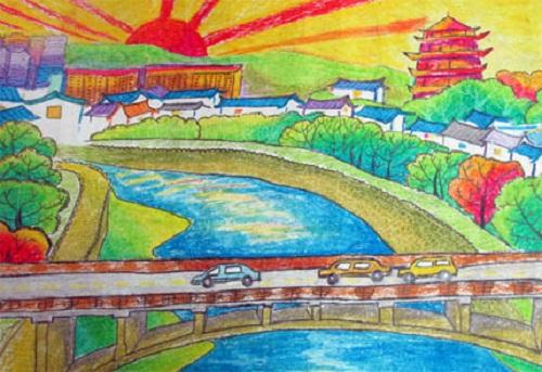内蒙赤峰的草原风情,广东深圳的南国风光……;捡起垃圾保护生态环境图片