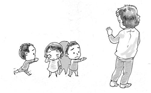 幼儿园一天时间表简笔画相应活动